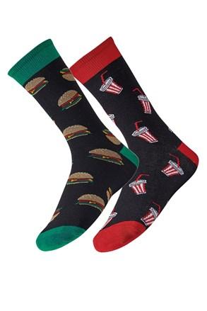2 pack muških čarapa Meal