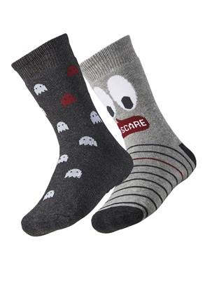 2 pack dječjih toplih čarapa Scare