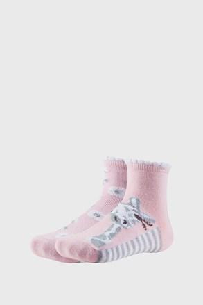 2 PACK čarapa za djevojčice Floral