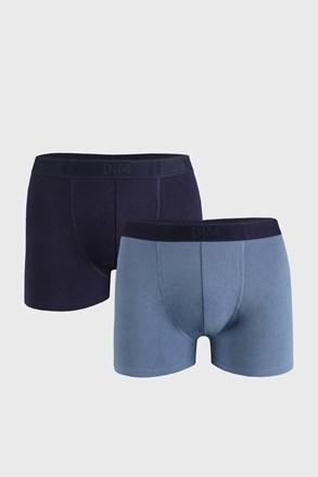 2 PACK plavih bokserica DIM Soft