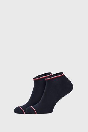 2 PACK plavih čarapa Tommy Hilfiger Iconic Sneaker