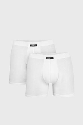 2 PACK muških bokserica Uomo Home bijele