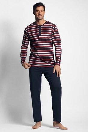 Crveno-plava prugasta pidžama