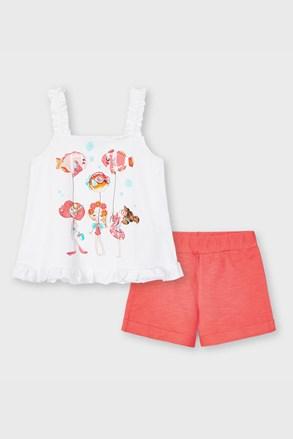 SET majice bez rukava i kratkih hlača za djevojčice Mayoral Balonky