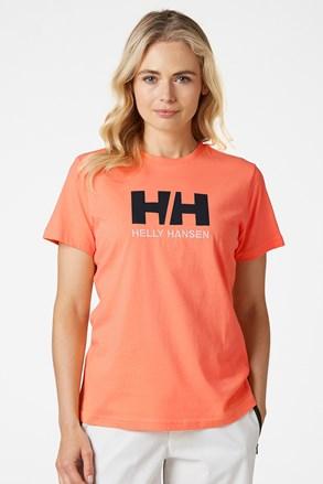 Ženska narančasta majica kratkih rukava Helly Hansen