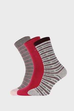3 PACK ženskih čarapa Calvin Klein Katerina