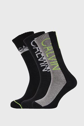 3 PACK visokih čarapa Calvin Klein Jesse