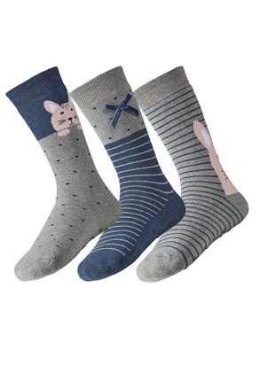 3 pack ženskih toplih čarapa Rina