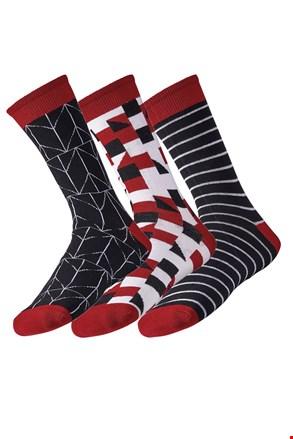 3 pack muških čarapa Line