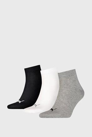 3 PACK čarapa Puma Quarter Plain