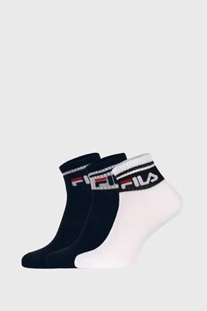 3 PACK ženskih čarapa FILA Navy
