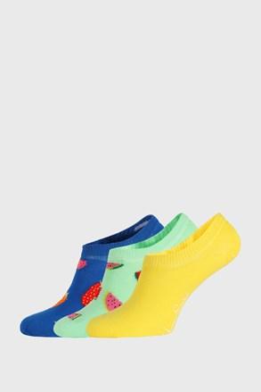 3 PACK čarapa Happy Socks Fruits No Show