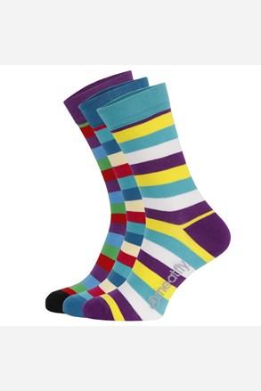 Šarene čarape Dark Small Stripe