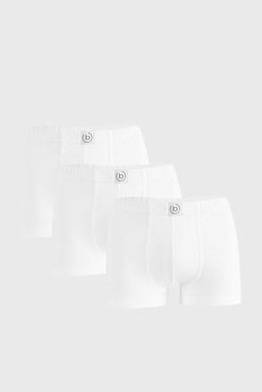 3 PACK bijelih bokserica bugatti Finian