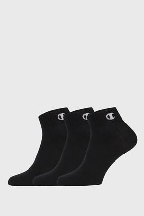 3 pack muških čarapa Champion niske crne
