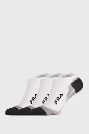 3 PACK čarapa FILA Invisible bijele
