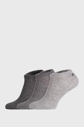 3 PACK čarapa FILA Invisible Mistgrey
