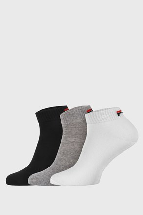 3 pack tri boje niskih čarapa FILA