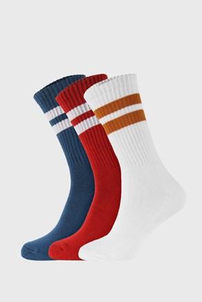 3 PACK čarapa u boji Active