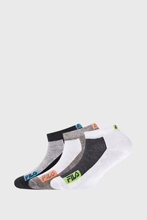 3 PACK dječjih sportskih čarapa FILA Invisible