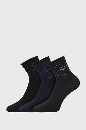 3 PACK ženskih čarapa Flowi