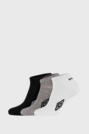 3 PACK čarapa do gležnja Umbro