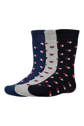 3 pack dječjih toplih čarapa Yrako