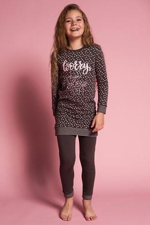 Pidžama za djevojčice Worry less