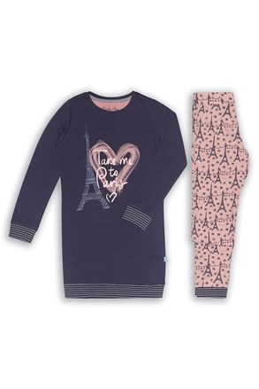 Pidžama za djevojčice Paris 02