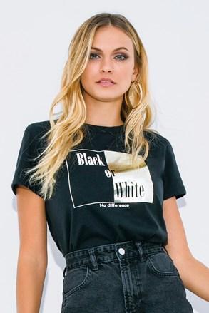 Ženska majica kratkih rukava Black or White