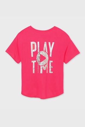 Majica za djevojčice Mayoral Playtime ružičasta