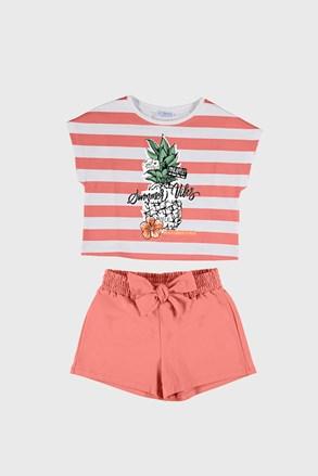 Komplet majice i kratkih hlača za djevojčice Mayoral Summer Vibes