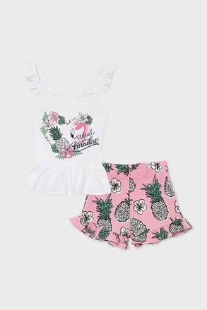 Komplet topa i kratkih hlača za djevojčice Mayoral Paradise