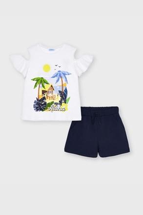 Komplet majice i kratkih hlača za djevojčice Mayoral Aloha