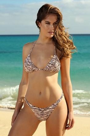 Ženski dvodijelni kupaći kostim Zebra High Side