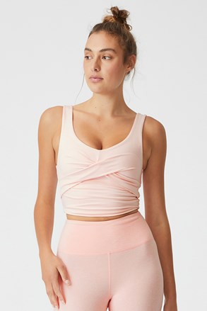Sportski top So Peachy ružičasti