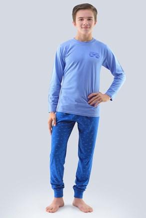 Pidžama za dječake Atlantic svijetlo plava