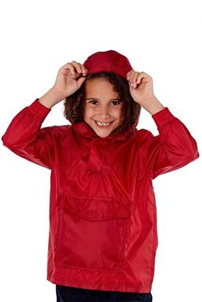 Dječja jakna za džep ProClimate crvena nepromočiva