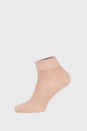 Bež bambusove čarape srednje visine