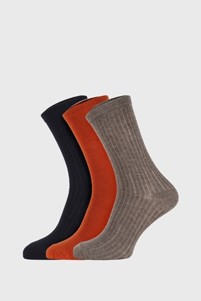 3 PACK dječjih čarapa Colored