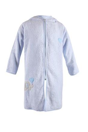 Dječji kućni ogrtač Blue Kids plavi slon