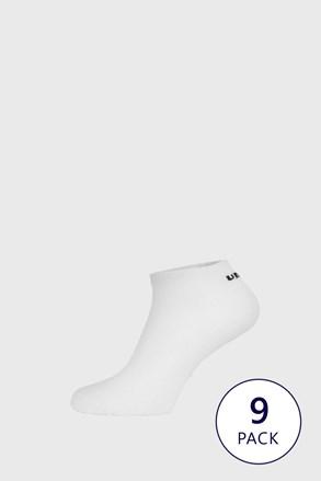 9 PACK bijelih čarapa do gležnja Umbro