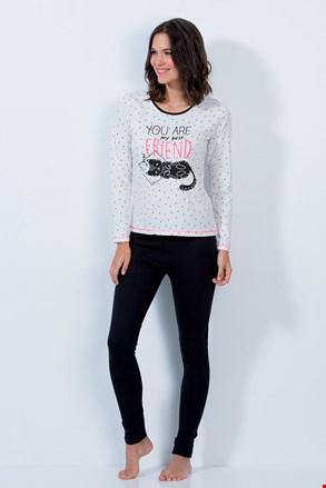 Ženska pidžama Cat friend