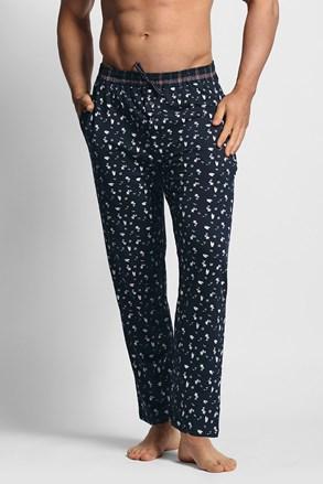 Muške plave pidžama hlače
