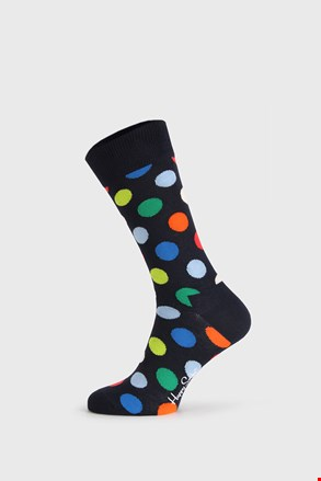 Crne čarape Happy Socks Big Dot