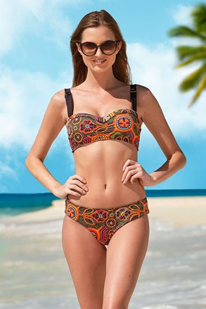 Ženski dvodijelni kupaći kostim Naranja