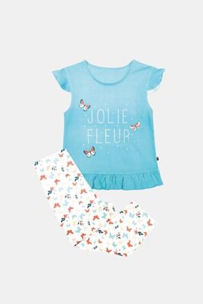 Pidžama za djevojčice Lila plava