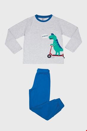 Pidžama za dječake Dino siva