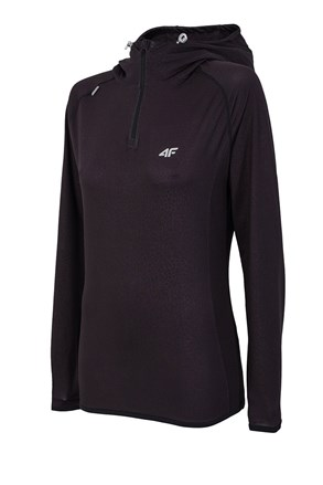 Ženska funkcionalna majica 4F Dry Control Black