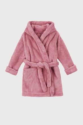 Ogrtač za djevojčice Simple ružičasti